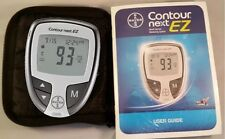 Bayer Contour Next EZ Blood Glucose Meter, Manual and Case