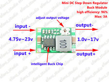 DC-DC 4.75~23V To 3.3V 5V 6V 9V 12V Buck Step down Power Supply Converter module