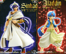Magi : The Labyrinth of Magic DXF figure set of 2 Aladdin & Sinbad Japan NEW