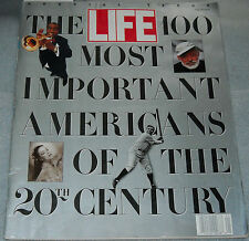 Life Magazine Fall 1990 Sp Iss 100 Most Important Americans Of The 20th Century