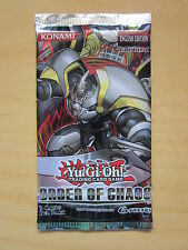 Yu-Gi-Oh Order of Chaos booster pack