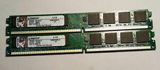 Kingston KVR667D2N5/1G 005.A01LF DDR2 667 CL5 SDRAM 2GB (2 pcs)