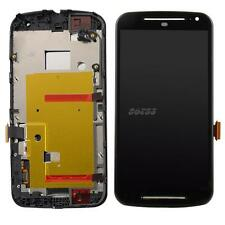 LCD Screen Display Digitizer Touch Frame Fr Motorola Moto G2 XT1063 XT1068 JMHG