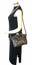 NWT Coach 18638 Madison Sequin Leather Mini Bronze Sophia Satchel Bag msrp $368