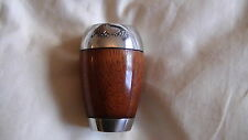 NEW OLD STOCK MOTO-LITA  GEAR KNOB WOOD/ ALLOY 5/16 UNC thread