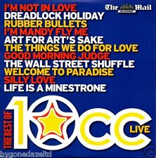 THE BEST OF 10cc DAILY MAIL PROMO CD (FREE UK POST)