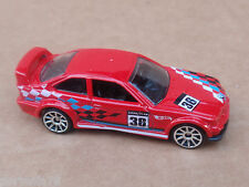 2014 Hot Wheels BMW E36 M3 RACE 169/250 Track Aces LOOSE Red