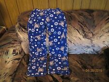 GIRLS SIZE S 3/5 PAJAMAS PJ BOTTOMS ONLY DISNEY EYEORE Lounge WARM PLUSH
