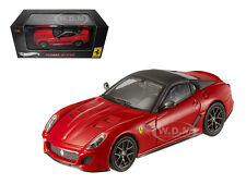 FERRARI 599 GTO RED WITH GREY ROOF ELITE EDITION 1/43 MODEL CAR HOTWHEELS T6267