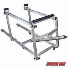 Extreme Max Deluxe Aluminum Snowmobile Lift, Wheel Kit Included