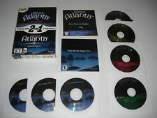 BEYOND ATLANTIS 1&2 1 & II Pc Cd Rom 2 Point & Click Adventures - Fast Post