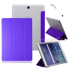 """Slim PU Leather Cover Case For Samsung Galaxy Tab A / E Tab S / S2 8"""" 9.7"""" 10.1"""""""