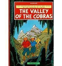 VALLEY OF THE COBRAS by the Creator of Tintin-New Book