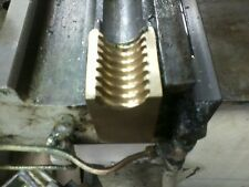 """Half Nut for Nichols Milling Machine Table """"X"""" Axis Bolt In Half-Nut"""
