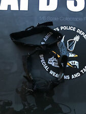 Dragon in Dreams DID LAPD SWAT Black Special Ops Harness Loose 1/6th scale