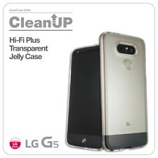 LG G5 Hi-Fi Plus Crystal Clear Transparent Protective Mobile Phone Case Cover