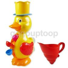 Funny Duck Shaped Water Wheel Baby Kids Outdoor Bath Time Play Activity Toy