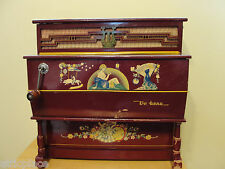 VINTAGE VERBENA TOY ORGAN WITH EXTRA CARTRIDGE-MADE BY REIG IN SPAIN