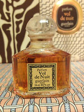 Vintage 1984 Vol de Nuit Guerlain SEALED 1/2 oz 15 ml Pure Parfum - OLD FORMULA