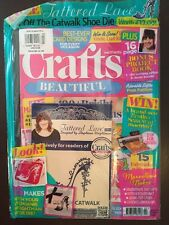 Crafts Beautiful Stamping Embossing Free Tattered Lace Feb 2016 FREE SHIPPING!