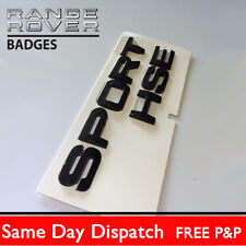 Range Rover SPORT Chrome Lettering  HSE for Land / Badge Logo Emblem TDV8