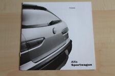 76731) Alfa Romeo 156 SW - Preise & Extras - Prospekt 05/2000