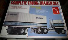 AMT 1/43 COMPLETE SEMI TRUCK & TRAILER Model Car Mountain KIT 1/43 KENWORTH