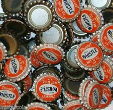 Soda pop bottle caps Lot of 25 THIRSTY JUST WHISTLE plastic lined new old stock