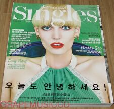 SINGLES 2NE1 SANDARA PARK AFTER SCHOOL UEE KOREA ISSUE MAGAZINE 2015 MAR MARCH