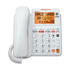 AT&T Big Button Phone with Tilt Display, Large Print, and Caller ID - Low Vision