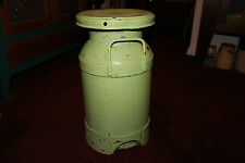 Antique Puritan Dairy Perth Amboy NJ Milk Can-Large Country Decor-Primitive-LQQK