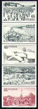 Sweden 1973 Tourism/Skiing/Rowing Boats/Buildings/Dance/Dancing 5v stp (n29645)
