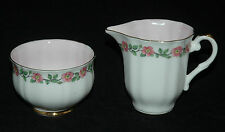 BEAUTIFUL ROYAL IMPERIAL FINE BONE CHINA MINI OPEN SUGAR BOWL & CREAMER