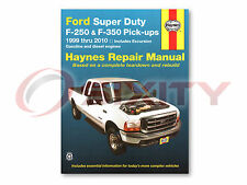 Ford F-250 Super Duty Haynes Repair Manual Lariat XL FX4 XLT Cabela's King ok