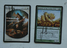 Mtg 2 Signed Cards By Jim Murray Reciprocate (Textless)  Kodama Centre Tree
