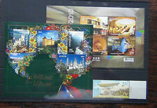 Ukraine 2004 Europa 2010 Trains Miniature sheet 2011 Airship MNH