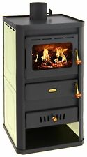 Wood Burning Stove Multi Fuel Fireplace Back Boiler Prity S2 W10 DIFFERENT COLOR