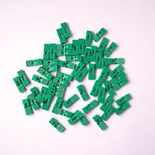 "200 PCS Green Mini Jumper with Handle 2.54 mm 0.1"" Pin Header Spacing Shunt P36"
