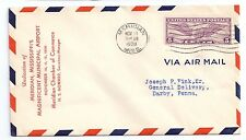 Airport Dedication Cover Meridian Mississippi Municipal Airport 1930 Sc C12