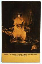Cartolina Originale Ritratto Di Maria Luigia Arci Duchessa D'Austria