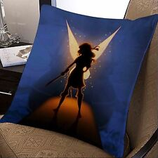 tinkerbell and the pirate fairy disney movie pillow case 20x20 inches two sides