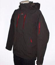 HELLY HANSEN Helly-Tech Men Waterproof Grey Hooded Jacket, Size L