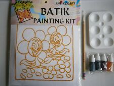 Fun-to-do Batik dipinto KIT (API) da BATIK CRAFT Malaysia