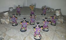 Warhammer 40K Chaos (9) Space Marines Thousand Sons Pro Painted Group#3