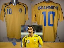 Sweden Umbro Adult XL ZLATAN IBRAHIMOVIC Shirt Jersey 2010 Football Soccer PSG