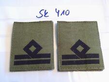 Italia armabzeichen nero su verde oliva tessuti ufficiale 1 PAIA (sk410)