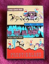 Disneyland FRONTIERLAND ATTRACTION POSTER LE 1500 Pin - Retired Disney Pins