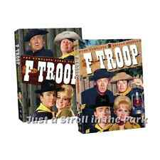 F Troop: Complete Classic Western TV Series Seasons 1 & 2 Box/DVD Sets NEW!