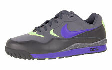2008 Nike Air Wildwood ACG Sample SZ 9 Anthracite Concord Black Volt 322620-041