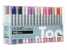 DHL Ship -New Copic Ciao 72 colors Set B 72B Premium Artist Markers Anime Comic